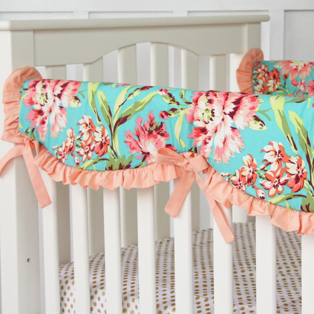 Coral Crib rail covers