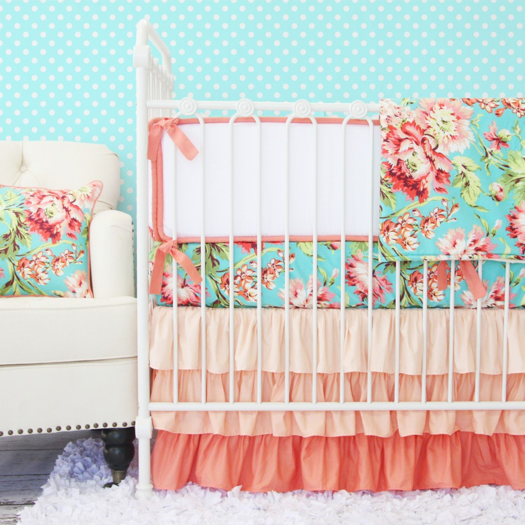 Girly Baby Bedding