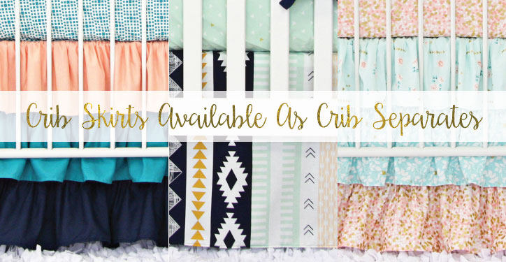 Crib Skirt Separates