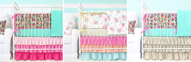 Ecelctic Boho Crib Style Baby Bedding Picks