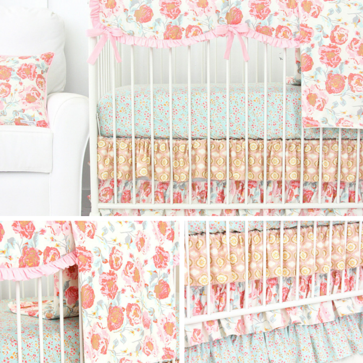 Pink Nursery Bedding at its Finest