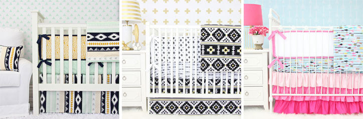 Funky Tribal Crib Style Nursery Bedding Picks