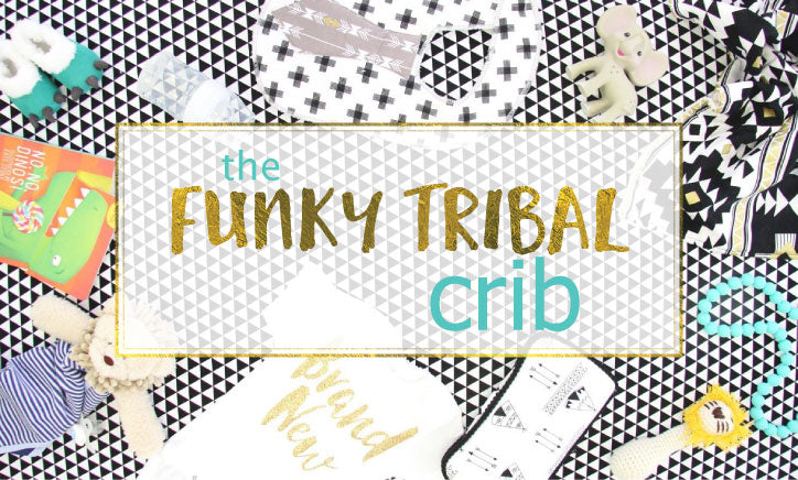 Funky Tribal Crib Style