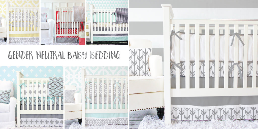 gender neutral nursery baby bedding