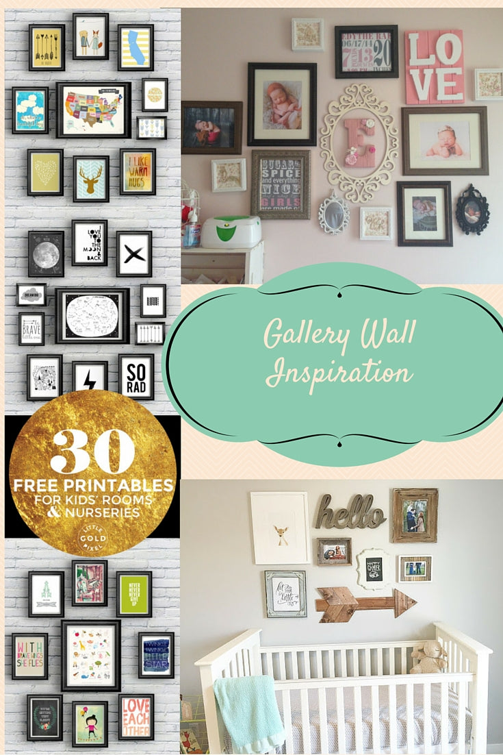 Free Gallery Prints Shabby Chic Wall Gender Neutral Gallery