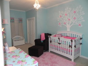 Kinley's Room with Caden Lane Baby Bedding