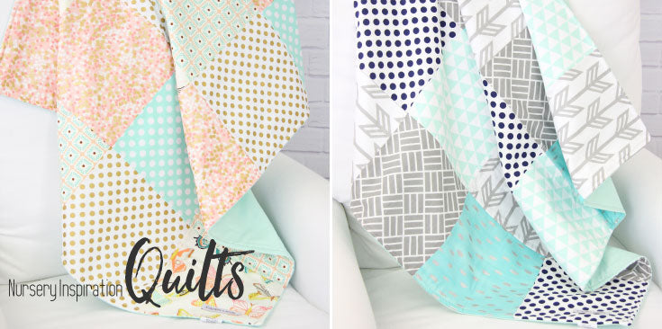 Quilts are great sources for Nursery Inspiration