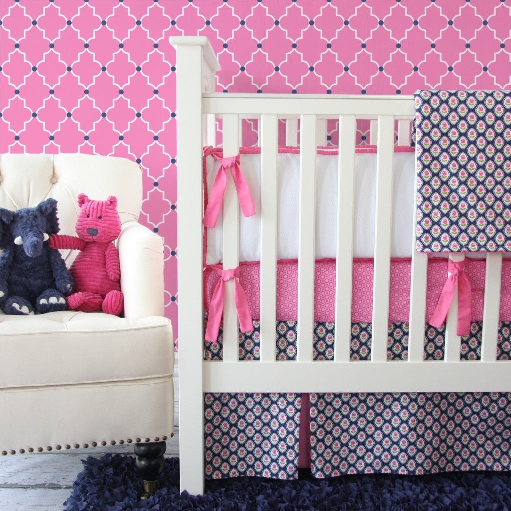 floral baby bedding
