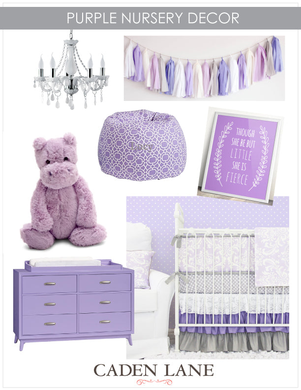 Purple-Nursery-Decor