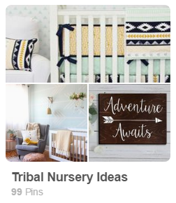Tribal Nursery Trends Pinterest Board