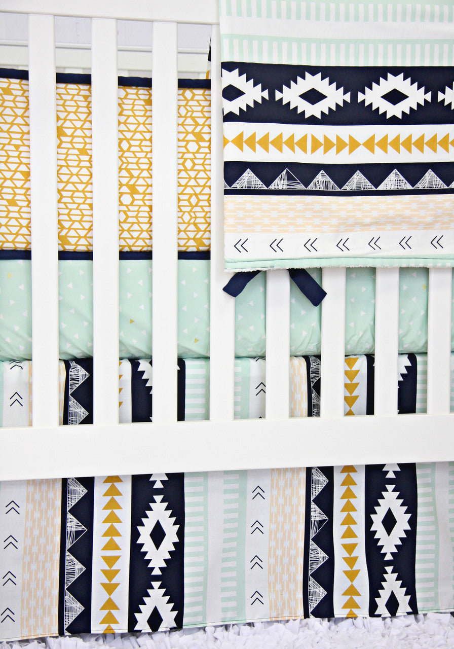 aztec baby bedding