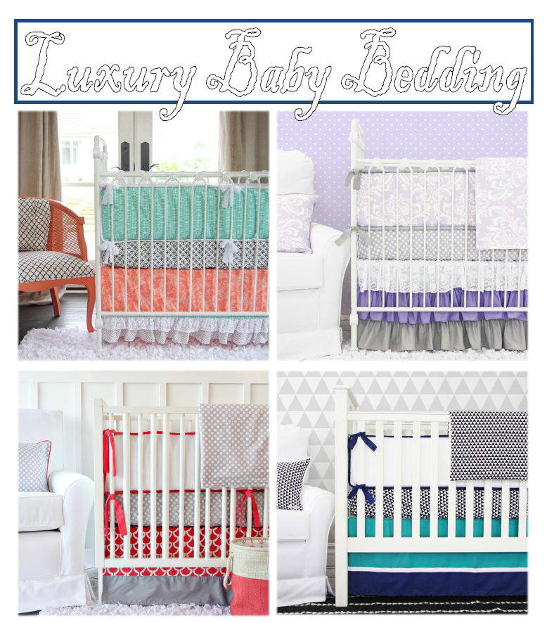 luxury baby bedding
