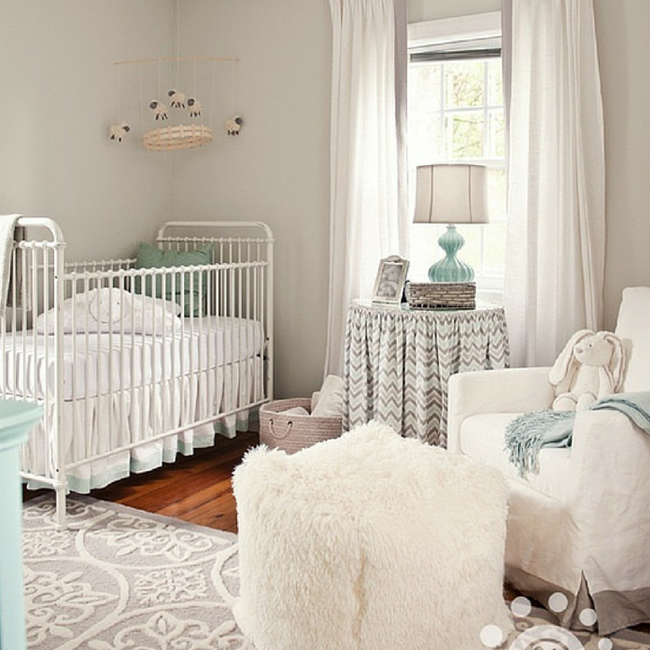 Beige Neutral Nursery Design