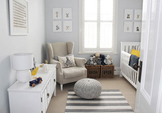 Fun Modern Animal Trend Nursery