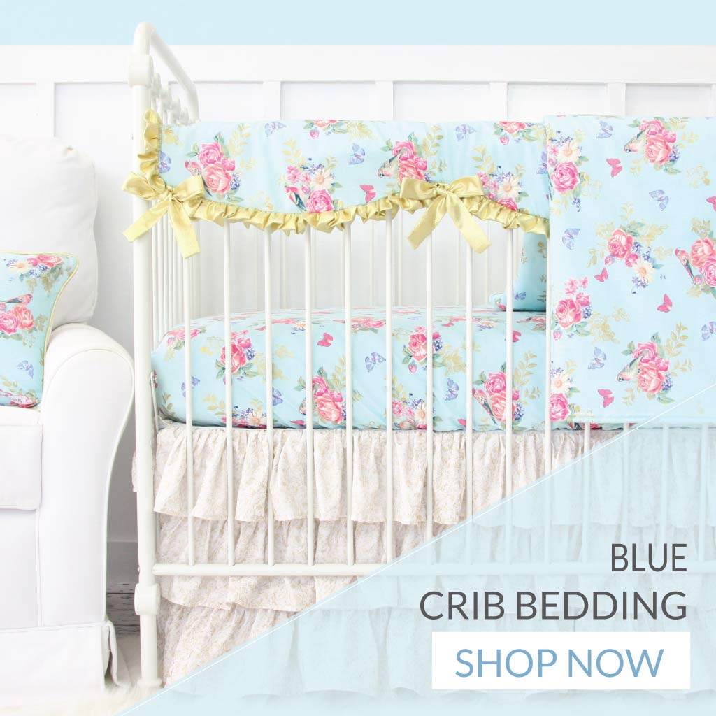 Shop Blue Baby Bedding for Girls