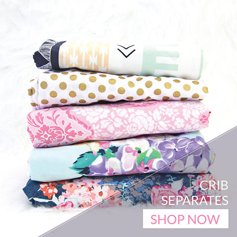 Shop amazing crib sheets, crib skirts, changing pad covers and more available as crib separates