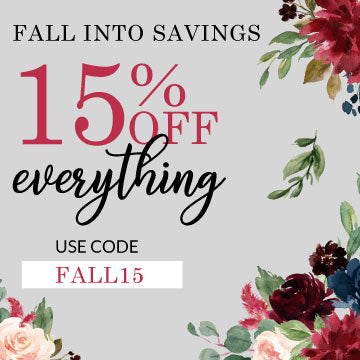 Fall into Savings with 15% Off Everything with Code FALL15