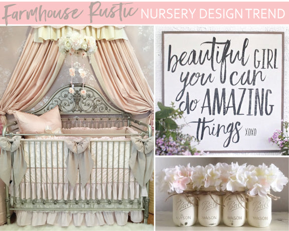 farmhouse rustic nursery
