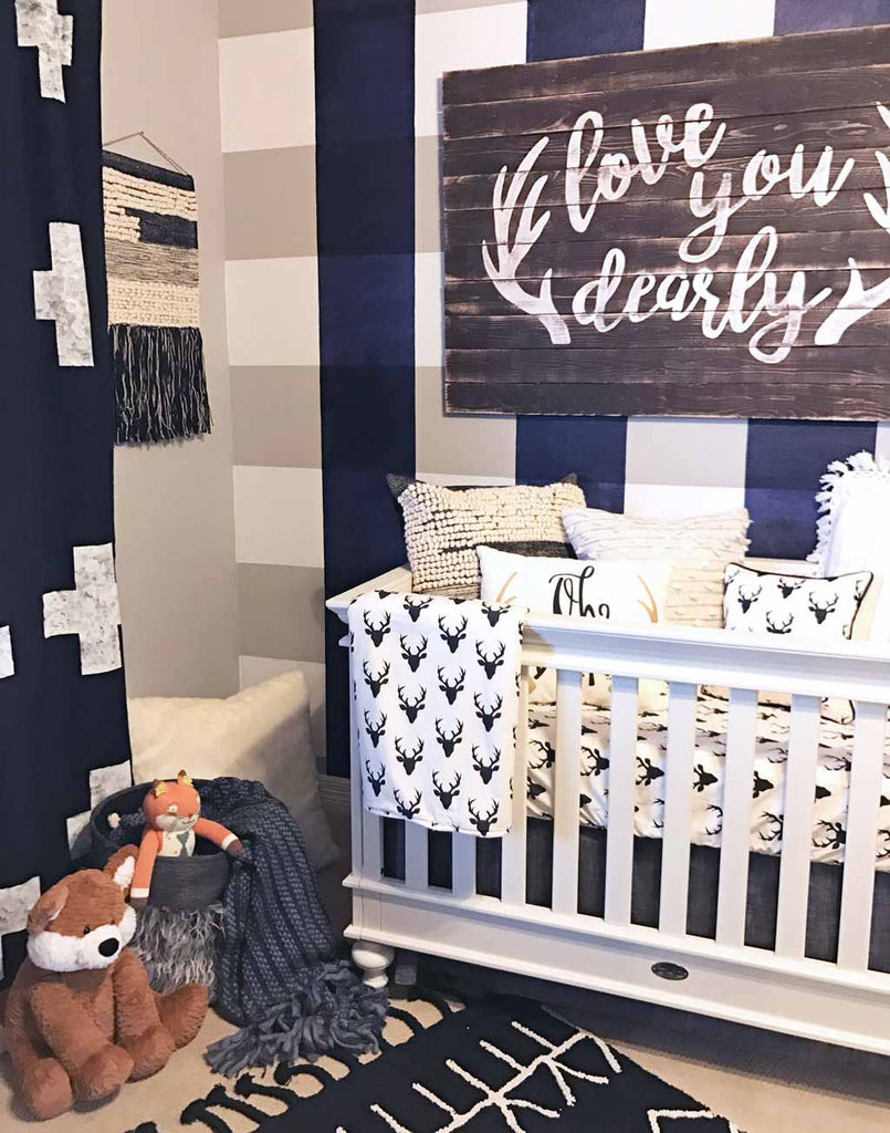 Crew's 'Love You Dearly' Nursery | The Buffalo Check Trend ...