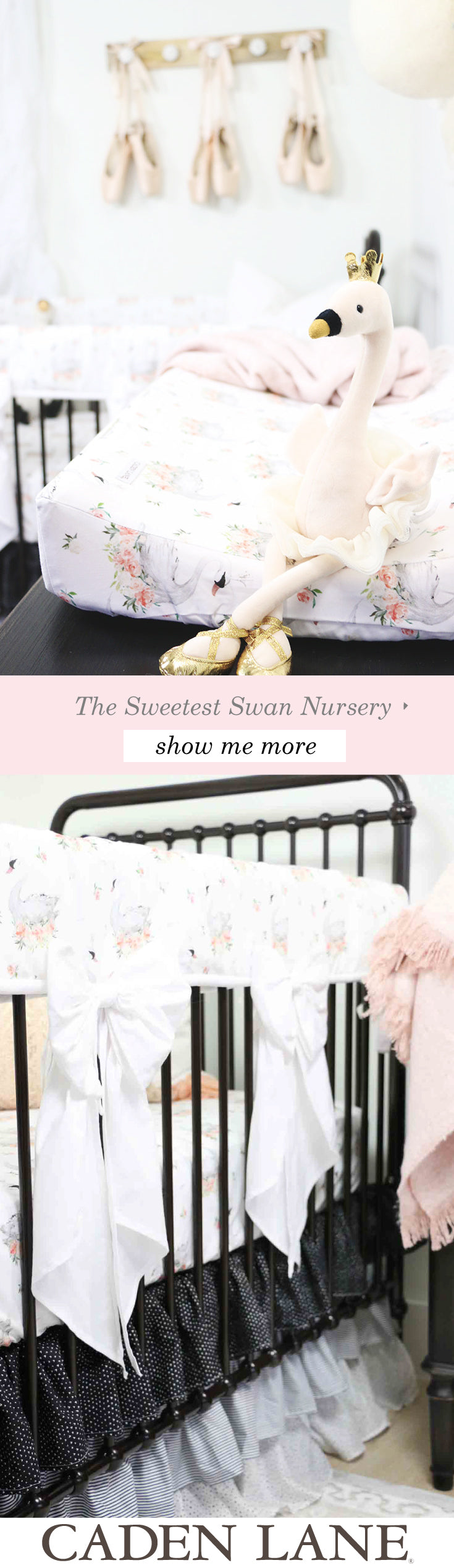 The Sweetest Swan Lake Ballerina Nursery We're in Love with this room!