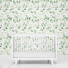 leafy greenery removable wallpaper