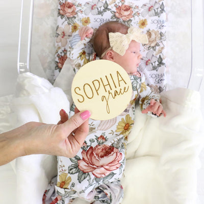 baby name sign for hospital