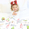 Avocado Cutie Personalized Toddler Blanket