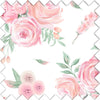 Blush Rose Fabric Swatch for Shabby Chic Nursery