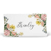 Brinley's Illustrated Botanical Floral Personalized Changing Pad Cover
