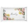 Brinley's Botanical Floral Personalized Crib Sheet