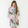 Botanical Floral Maternity Hospital Robe for mom