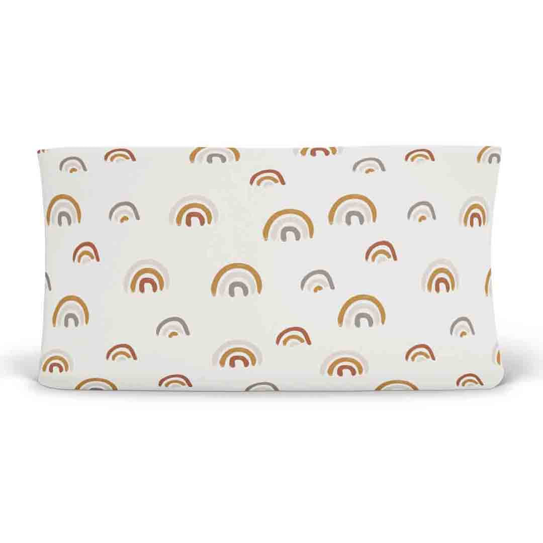 Cannon's Earthy Rainbow Changing Pad Cover