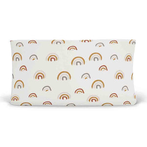 Cannon's Earthy Neutral Rainbow Changing Pad Cover Gender Neutral