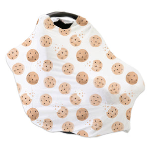 cookie print car seat cover