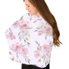 Delaney's Dusty Rose Sweet Blush Floral stretchy nursing cover