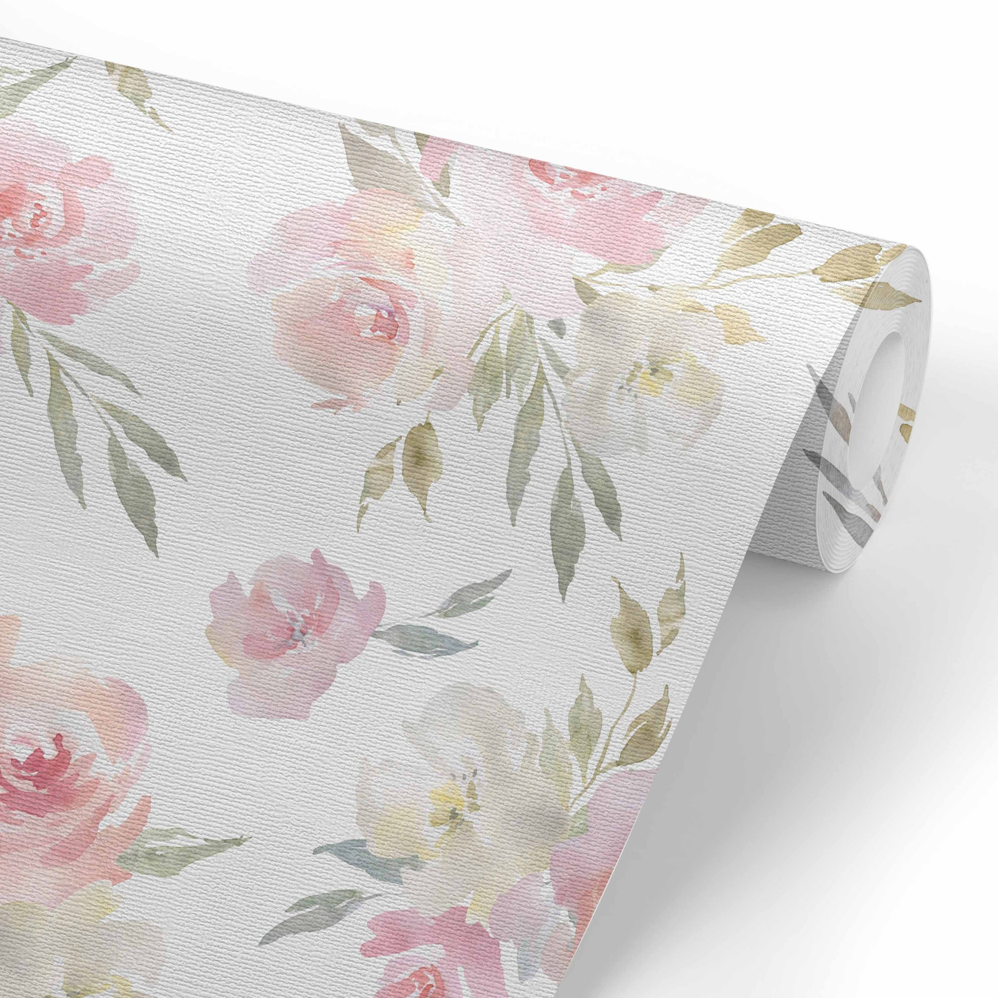 Delaney S Dusty Floral Removable Wallpaper Caden Lane