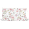 Delaney's Dusty Rose Sweet Floral Changing pad cover