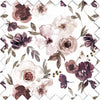 Demi's Dusty Purple Floral Swatch Kit
