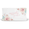 Desert Cactus Blooms Personalized Fitted Changing Pad Cover