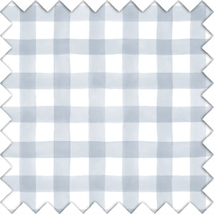 Dusty Blue Gingham Swatch Kit