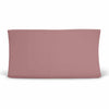 Solid Dusty Rose Knit Changing Pad Cover