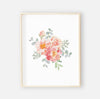 Ella's Dusty Rose Floral Digital Nursery Print 1