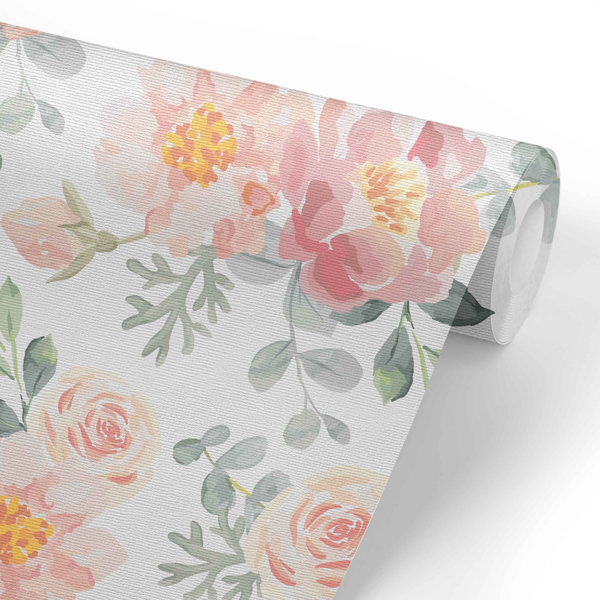 Ella S Vintage Dusty Rose Removable Wallpaper Caden Lane