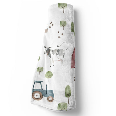 Frankie's Farm Party Baby Bedding