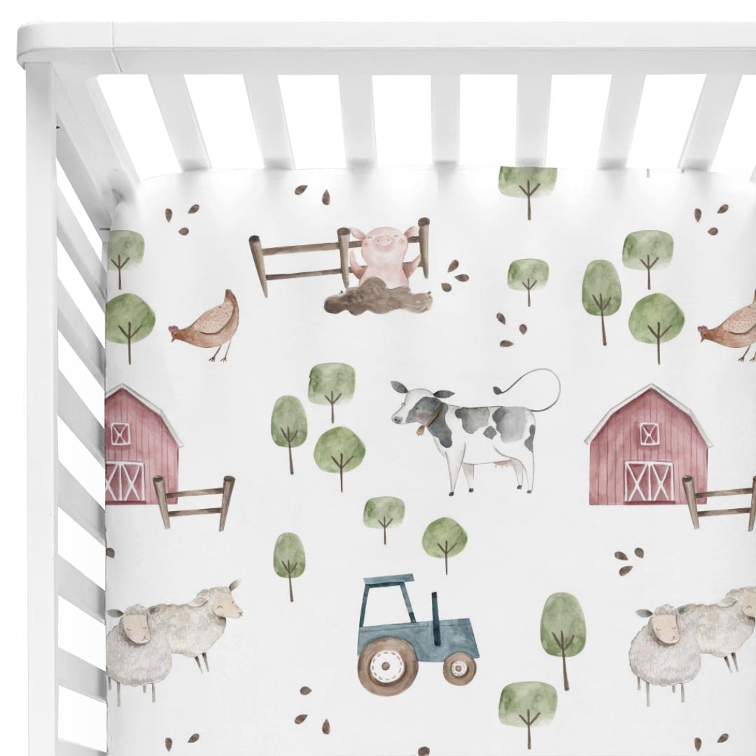 Frankie S Farm Party Baby Bedding Caden Lane