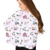 frankie's farm party knit multi-functional nursing cover