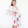 Franny's Farmhouse Floral Knit Maternity and Delivery Robe