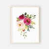 Franny's Farmhouse Floral Bundled Digital Nursery Art