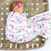 The most adorable personalized baby name swaddle perfect for photos!