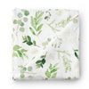 leafy greenery super soft swaddle for newborn